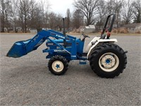 Ford New Holland 1920 Diesel MFWD UP27157 2945 1se