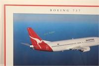 Qantas Boeing 737 Poster