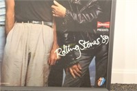 Rolling Stones Budweiser Presents for Tour in 1989