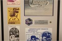 Autographed Chicago II Album Poster