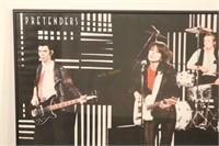 1980 Pretenders Original Line-Up Poster