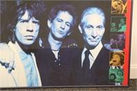 Original 1994 Rolling Stones US Tour Poster