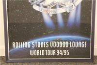 1994/1995 Rolling Stones Tour Poster Voodoo