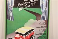 1971 Rolling Stone Original UK Poster