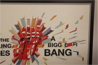 Rolling Stones Poster from Bigger Bang Tour