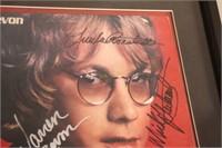 Autographed Warren Zevon Excitable Boy Album