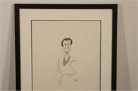 Al Hirschfeld Cosby Limited Edition Lithograph