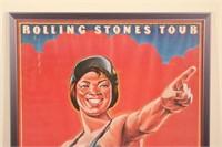 1978 Original Rolling Stones Tour of Us Poster