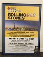 2003 Rolling Stones Concert Poster