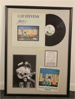 Autographed Album Teaser & the Firecat Cat Stevens
