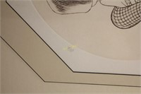 Al Hirschfeld Hand Signed Lithograph