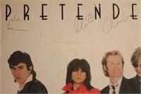 Pretenders Autographed Album Poster