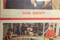 "Rare Handbills from 1965 Movie ""Girl Happy"""
