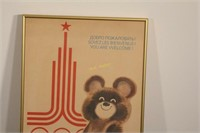 1980 Olympics in Moscow Poster