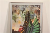 Rolling Stones Cardiff Castle Tour Poster