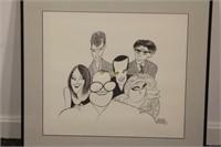 Al Hirschfeld Drew Carey Show