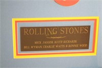 Rolling Stones Hand Signed Dirty Work Album