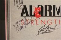The Alarm Album Strength Plus Studio Handbill