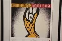 Rolling Stones Album Art Voodoo Lounge Poster