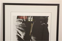 Rolling Stones Sticky Fingers Album Poster
