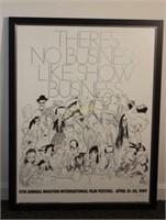 Hirschfeld Houston Film Festival Promotion Poster