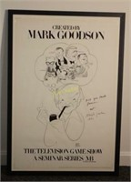 "Hirschfeld ""The Television Game Show"" Poster"