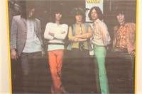 Vintage Rolling Stones Poster 1969
