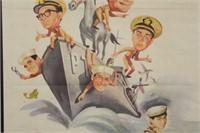 McHale's Navy Original Movie Poster 1964