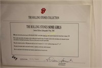 Rolling Stones Limited Edition Album Art