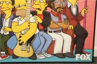 Simpsons 2002 Poster, Tom Petty, Mick Jagger
