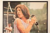 Mick Jagger at Hyde Park 1969 Original Poster*