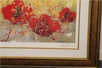 Framed Budding Heart by Pangborn