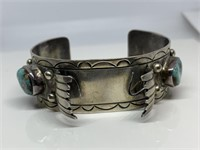JEWELRY AUCTION ALL SILVER & GOLD NATIVE AMERICAN MORE