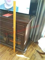 Tv stand, 44 x 20 x 36, contents & tv not