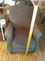 Lane brown reclining chair