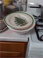Correlle & Christmas dishes