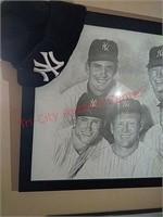 New York Yankees baseball sketch picture