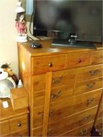 Dresser matches lot 8440 & 8442, contents not