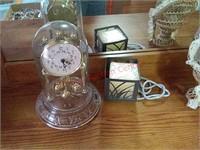 Clock, music box, etc
