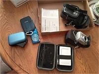 Digital cameras, portable battery