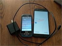 Samsung & LG smartphones, both turn on