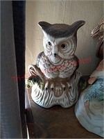4 owl music boxes