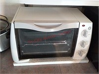 Toaster oven, crock pot, toaster, coffee maker