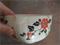 2 hall & other bowls, damaged as shown