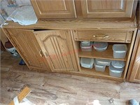 Kitchen cabinet, contents not included