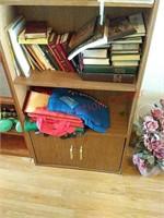 2 shelves w/contents