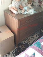 Chest dresser, 56 x 32 x19, dolls not included