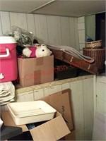 Contents of basement storage room