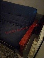 Futon in basement, approx 81 long