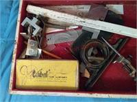 Vintage architect tools